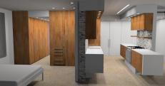 Kitchen/ Bedroom